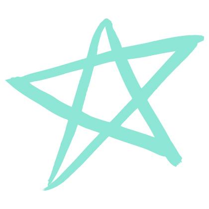 drawn star