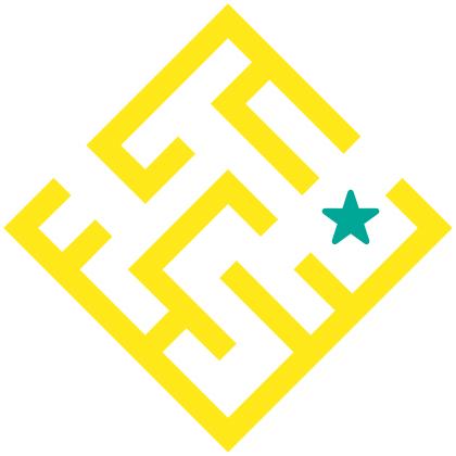 Star in a maze